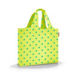 mini maxi beachbag (lemon dots)