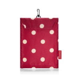 mini maxi travelbag (ruby dots) 02