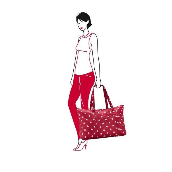 mini maxi travelbag (ruby dots) 03