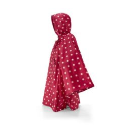 mini maxi poncho (ruby dots)
