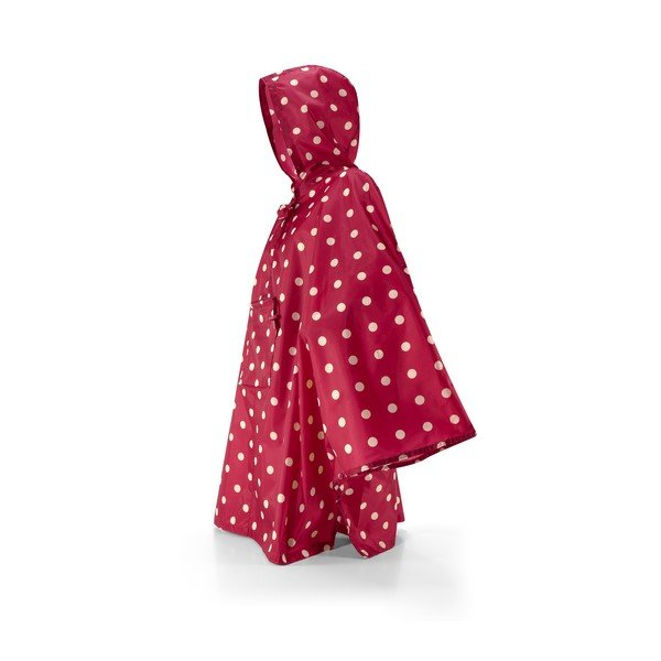 mini maxi poncho (ruby dots)