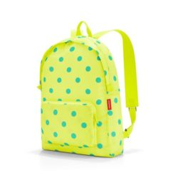 mini maxi rucksack (lemon dots)