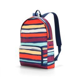 Reisenthel mini maxi rucksack (artist stripes) Hátizsák