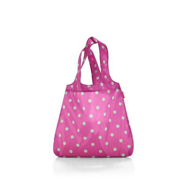 Reisenthel mini maxi shopper (magenta dots) Bevásárlótáska
