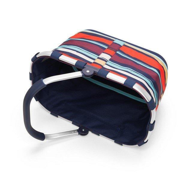 Reisenthel carrybag 2 (artist stripes) Bevásárlókosár 02