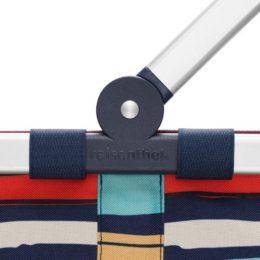 Reisenthel carrybag 2 (artist stripes) Bevásárlókosár 05