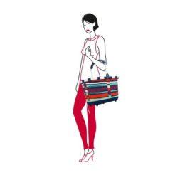 Reisenthel carrybag 2 (artist stripes) Bevásárlókosár 08