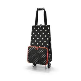 Reisenthel foldabletrolley (mixed dots) Bevásárlókosár