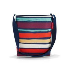 shoulderbag S (artist stripes)