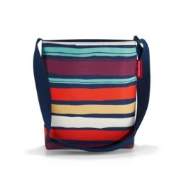 shoulderbag S (artist stripes)