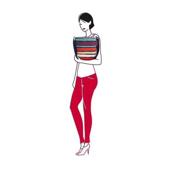 shoulderbag S (artist stripes) 03
