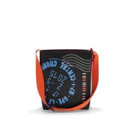 Reisenthel shoulderbag S (special edition stamps) Kézi és válltáska