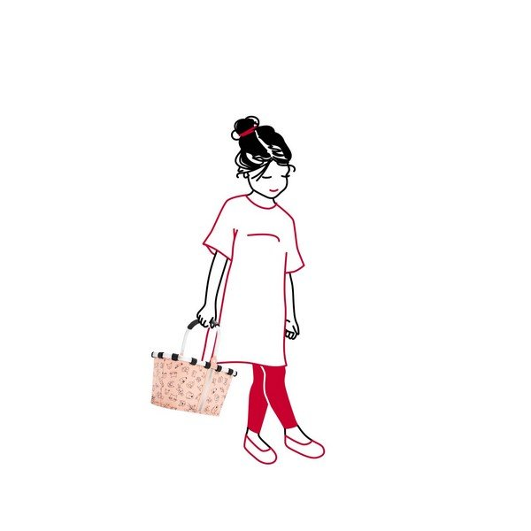carrybag XS kids (cats and dogs rose) 03