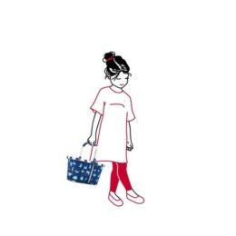 Reisenthel carrybag XS kids (abc friends blue) Bevásárlókosár 03