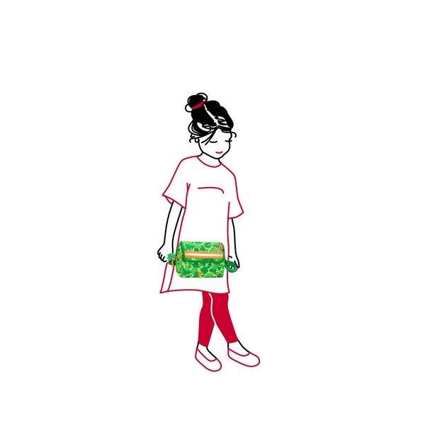 Reisenthel everydaybag kids (greenwood) Kézi és válltáska 03
