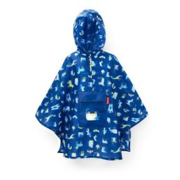 Reisenthel mini maxi poncho kids (abc friends blue) Poncho