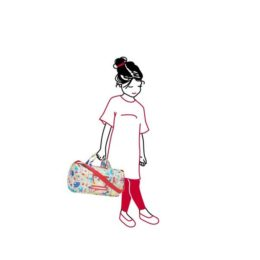 mini maxi dufflebag S kids (circus) 03