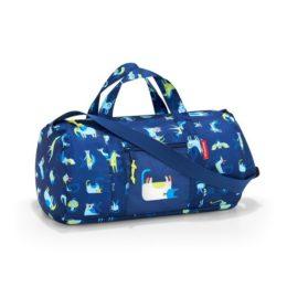 Reisenthel mini maxi dufflebag S kids (abc friends blue) Utazó sporttáska