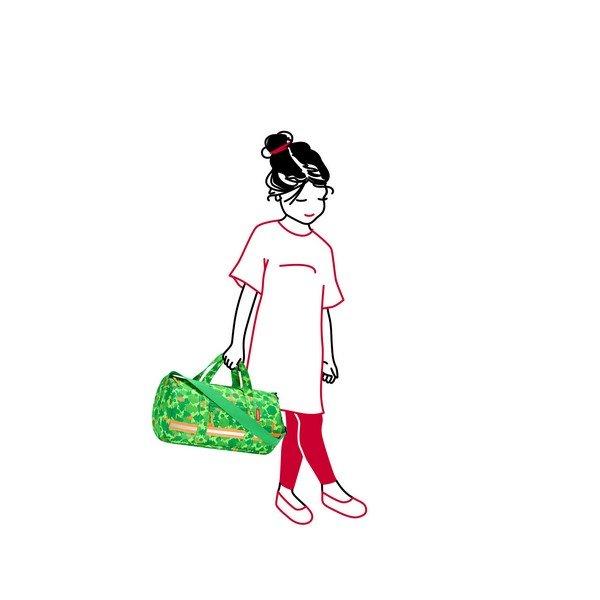 Reisenthel mini maxi dufflebag S kids (greenwood) Utazó sporttáska 03