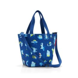 Reisenthel shopper XS kids (abc friends blue) Kézi és válltáska