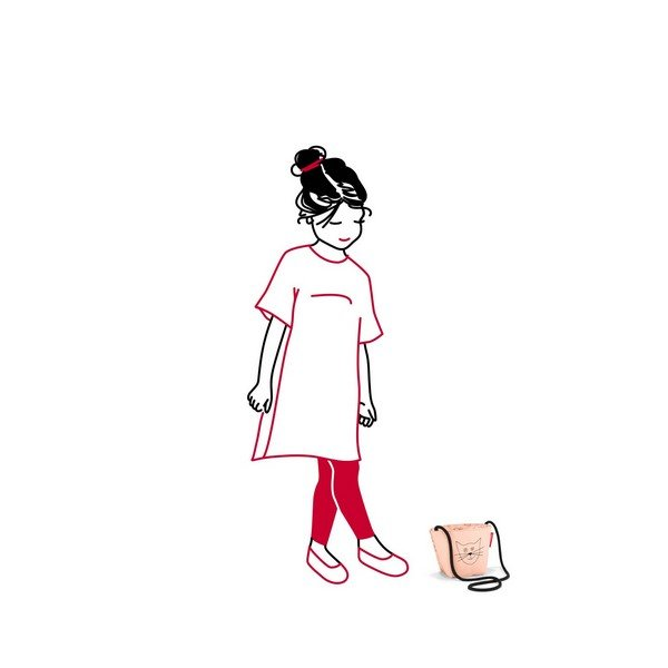 minibag kids (cats and dogs rose) 02