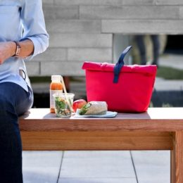 fresh lunchbag iso M (red)