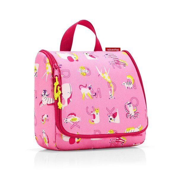 Reisenthel toiletbag kids (abc friends pink) Pipere kozmetikai táska