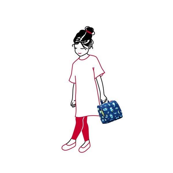 Reisenthel toiletbag kids (abc friends blue) Pipere kozmetikai táska 04