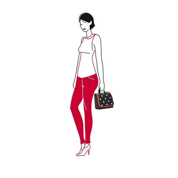Reisenthel toiletbag (mixed dots) Pipere kozmetikai táska 03