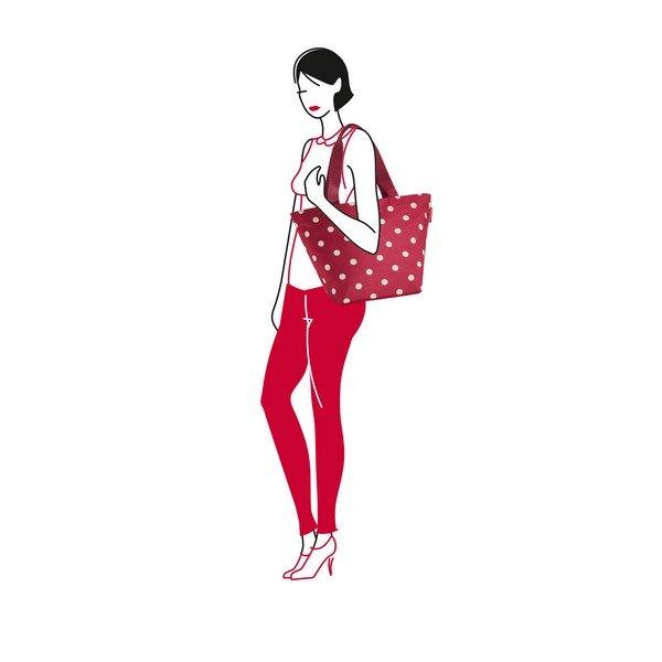 shopper M (ruby dots) 02