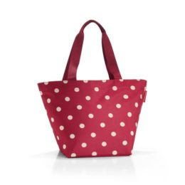 shopper M (ruby dots)