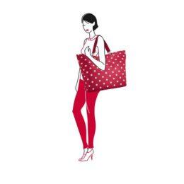 shopper XL (ruby dots) 02